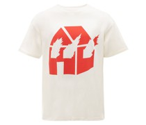 x DW T-Shirt mit Print