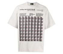 T-Shirt mit Albert-Einstein-Print