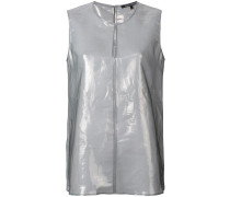 Top im Metallic-Look