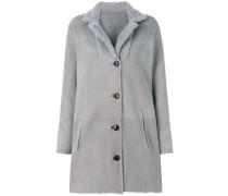 Mantel mit Knopfleiste