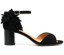 Sandalen mit Federn