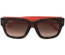Eckige 'Amber' Sonnenbrille