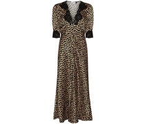 'Simone' Kleid mit Spitzenborte