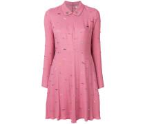 safety pin detail dress