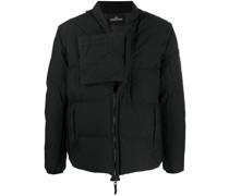 real down blouson jacket