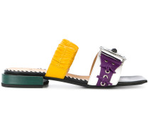 western slider sandals