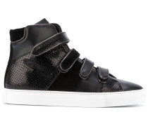 High-Top-Sneakers mit Klettverschlussriemen