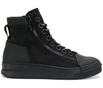 Mid zipped sneakers