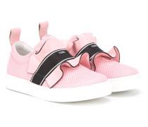 Sneakers mit Rüschen - kids