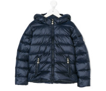 side zip padded jacket