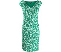 Schmales Kleid mit Blütenmuster
