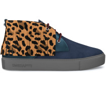 'Maltby' Ssneakers mit Leopardenmuster