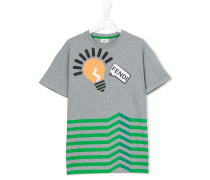 T-Shirt mit Glühbirne-Print - kids