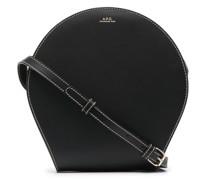 A.P.C. logo-print shoulder bag