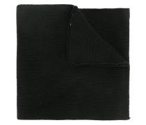 ribbed teddy plaque scarf
