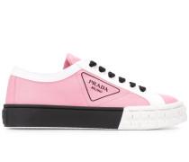 Sneakers aus Gabardine