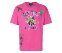 Palm Beach print T-shirt