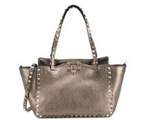 Trapezförmige 'Rockstud' Handtasche