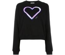 Sweatshirt mit Herz-Patch