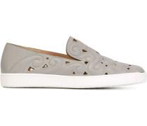 Slip-On-Sneakers mit barockem Design
