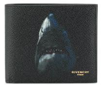 shark print billfold wallet