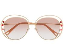 'CE169S' Sonnenbrille mit rundem Gestell