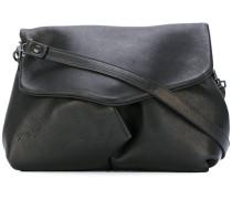 draped shoulder bag - women - Kalbsleder