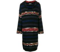 Pulloverkleid mit Verzierungen