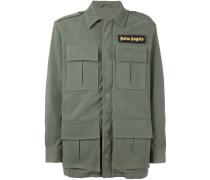 Military-Jacke aus Wollgemisch