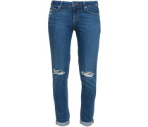 Quinley Distressed Skinny Jeans