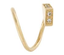 'Ari' twirl diamond earring