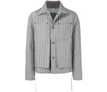 quilted workwear jacket