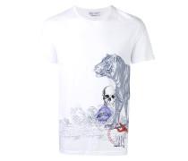 T-Shirt mit Print - men - Organische Baumwolle