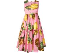 Kleid mit Ananas-Print - women - Baumwolle - 40