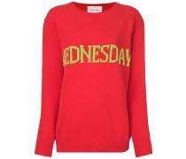 Wednesday intarsia jumper