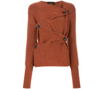 wicked rust cardigan