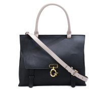 'Ave A' top handle satchel
