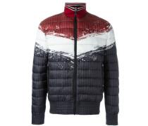 Wattierte Jacke in Colour-Block-Optik