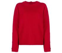 Verzierter Pullover mit Reißverschluss