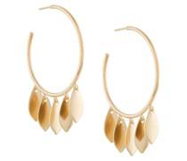 Ohrringe mit Blattanhänger