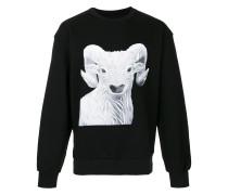 Ram embroidered sweatshirt