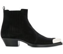metallic toe boots