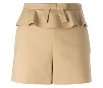 frill trim shorts