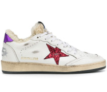 'Ball Star' Sneakers mit Shearling-Futter