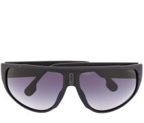 Sonnenbrille mit Logo-Print