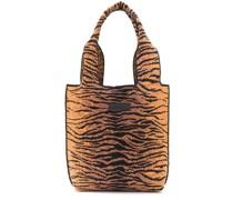Handtasche mit Tiger-Logo