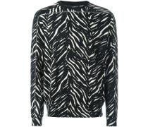 Schmales 'Zebra' Sweatshirt