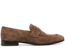 Dundrige Penny-Loafer aus Wildleder