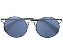 Sonnenbrille mit rundem Gestell - women - Stahl