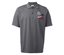 patch embroidered polo shirt